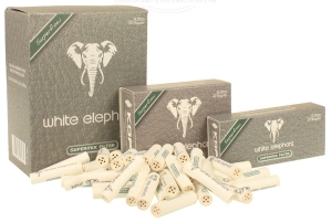 WHITE ELEPHANT Supermix Pfeifenfilter 9mm (neue Verpackung)