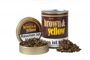 JOHN AYLESBURY Brown & Yellow