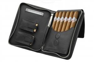 ADORINI Cigarrenetui aus Echtleder