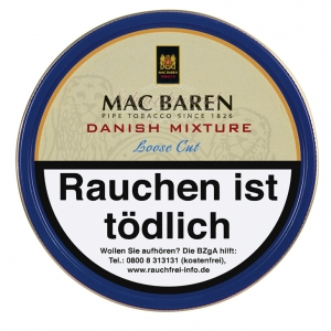 MAC BAREN  Danish Mixture (Loose Cut, Aromatic)