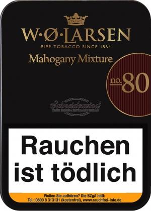 W.Ø. Larsen Mahogany Mixture No. 80