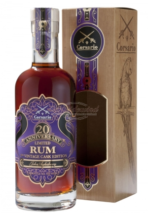 CORSARIO 20th Anniversary Rum 2nd Vintage Cask Edition