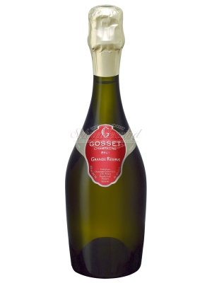 GOSSET Grand Réserve Champagner (halbe Flasche)