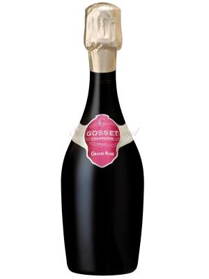 GOSSET Grand Rosé Champagner (halbe Flasche)