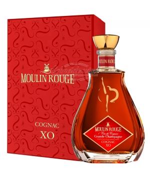 JEAN FILLIOUX Cognac Moulin Rouge XO Decanter