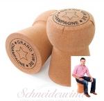 XL-CORK Champagner-Korken Sitzhocker
