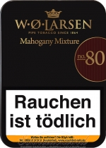 W.Ø. Larsen Mahogany Mixture No. 80
