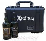 ARDBEG Whisky-Hardcase inkl. 2 Flaschen